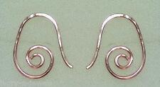 Small 15mm Fancy INTERCHANGEABLE Earring Wires 14K ROSE Gold Filled