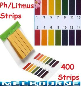 Details about 400x PH 1-14 Alkaline Litmus Paper PH test strips Urine  Saliva Level Indicator