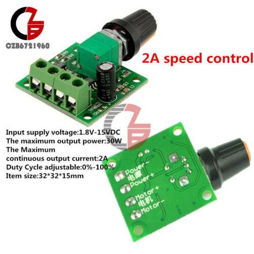 DC1.8V 3 V 5 V 6 V 2A//DC 6 V 28 V 3 A PWM Vitesse moteur régulateur commutateur contrôleur