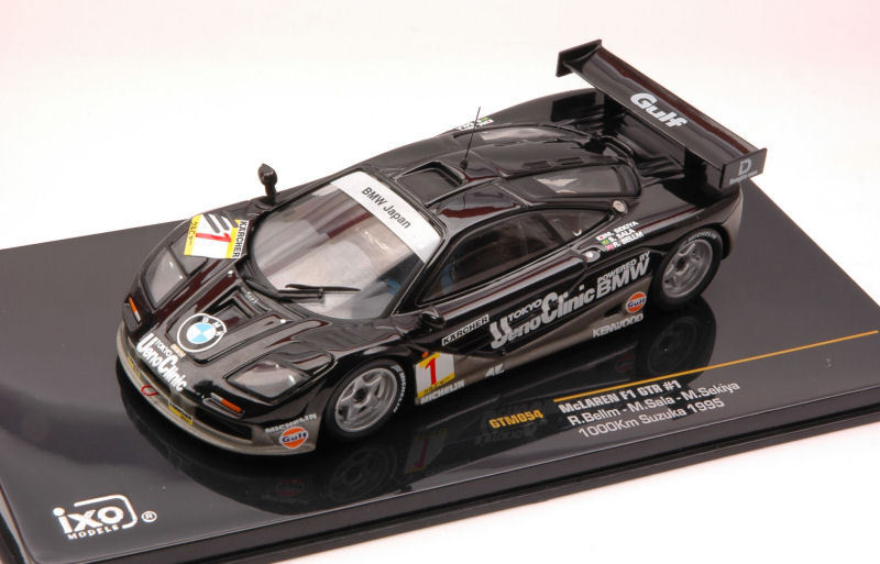 McLaren F1 Gtr  1 1000 Km Suzuka 1995 1 43 Model GTM054 IXO MODEL
