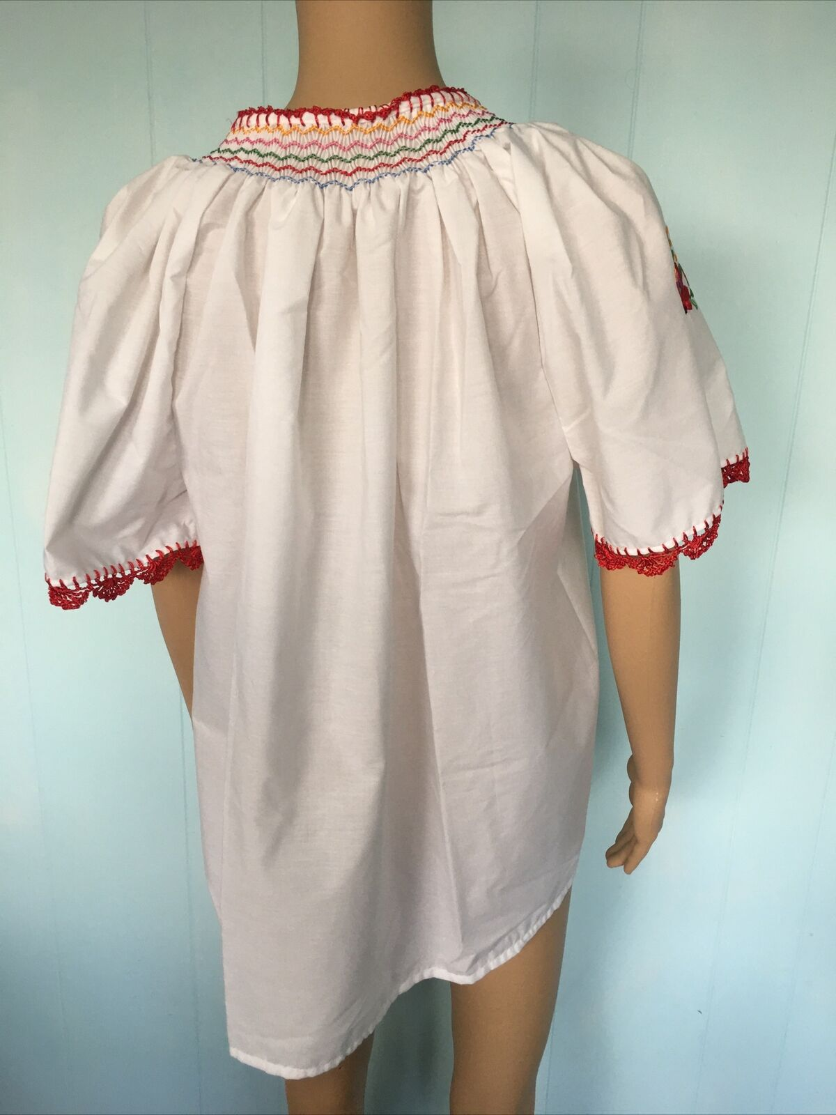 Traditional Hungarian Matyo Kalocsai Embroidered … - image 5