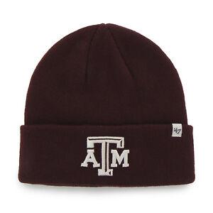 huge discount 540e4 7ac7e Image is loading NCAA-Texas-A-amp-M-Aggies-Embroidered-Raised-