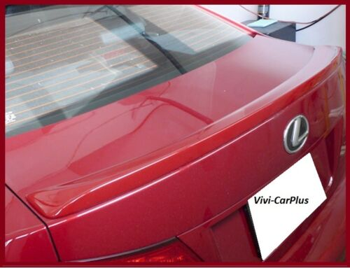 Pick Your Color 06-13 LEXUS IS250 IS350 ISF 4Dr F Sport Style Trunk Spoiler Wing