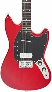 Eastwood Warren Ellis Signature 6-String Guitar Dark Cherry Finish