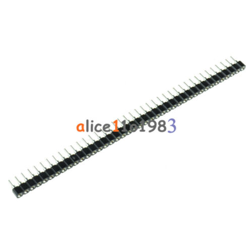 5PCS Strip Tin PCB Female IC Breakable 40pin Single Row Round Header Socket