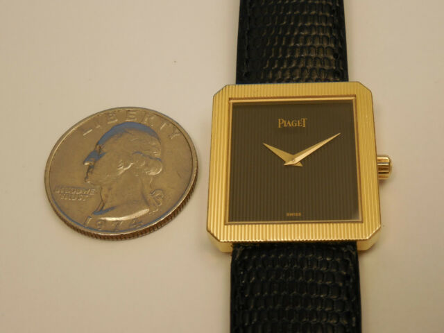 GENUINE PIAGET SOLID 18K YELLOW GOLD 24MM PROTOCOL POLO 84154