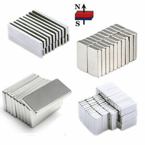 1-100Pcs Super Strong Rare Earth N50 Magnet Cylinder Ring Powerful Magnetic Tool
