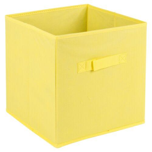 Cajas De Almacenamiento Plegable Cubo no tejida Niños Juguetes asas de transporte cesta organizar
