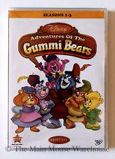 Disney Channel Gummi Bears DVD Classic 1980s 80s Cartoon Series Seasons 1-3