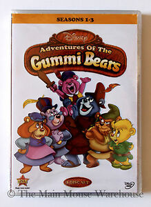 Disney-Channel-Gummi-Bears-DVD-Classic-1980s-80s-Cartoon-Series-Seasons-1-3