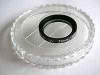 KOOD PRO 25MM UV PROFESSIONAL ULTRA VIOLET FILTER JAPANESE OPTICAL GLASS