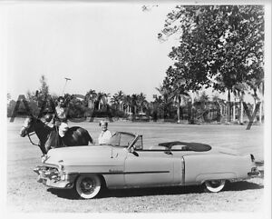 1953 Cadillac Series 62 Convertible, Factory Photo (Ref. #30245)