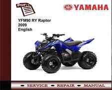 Yamaha YFM90 RY YFM 90 Raptor 2009 Service Repair Workshop Manual