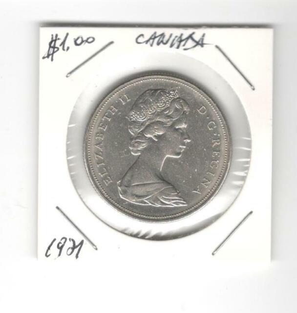 1971 Canada Dollar 100Years Of British Columbia (1871-1971)-Queen Elizabeth II
