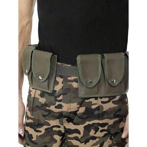 FANCY-DRESS-ARMY-BELT-AMMO-BELT-RAMBO-POUCH-BELT-ADULT-SIZE
