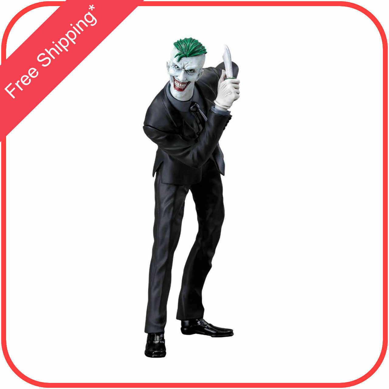DC Comics The Joker ArtFX+ 1 10 scale Statue Figure by Kotobukiya