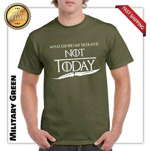 Not-Today-T-Shirt-Game-of-Thrones-Arya-Stark-GOT-Night-King-Targaryen-John-Snow