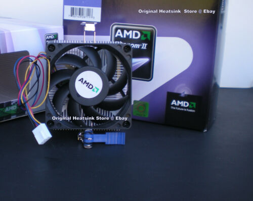 AMD Athlon II Heatsink CPU Cooling Fan for X3 400 /& X4 600 Series Processor New