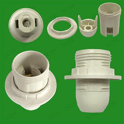 2x MES E10 Candelabra To E12 CES Light Bulb Adaptor Converter Holder