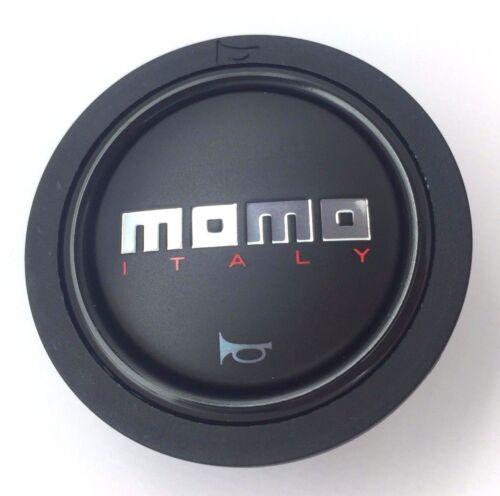 Original Momo Italie Noir Mat Volant de Direction Klaxon Bouton Poussoir Petit