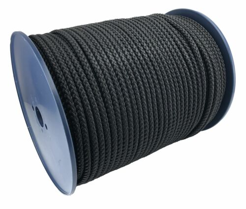 Soft To Touch Rope x 10 Metres 8mm Black Bondage Rope