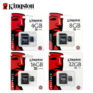 Kingston-4GB-8GB-16GB-32GB-Micro-SD-SDHC-Memory-Card-Class-4-TF-Card