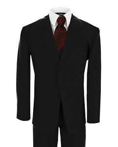 G188 Black Red Tie Gino Giovanni Boy Formal Tuxedo Tux Suit Choice