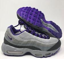 WMNS Nike Air Max 95 ID Grey purple black Sz 7.5 818593 996