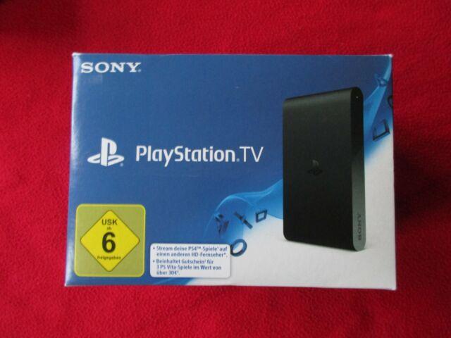 Sony Playstation Vita TV-Noir Console De Jeux (vte-1016) NEUF