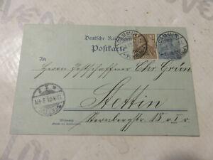 Germany-Reich-Postal-Card-Postkarte-Deutschland-1901