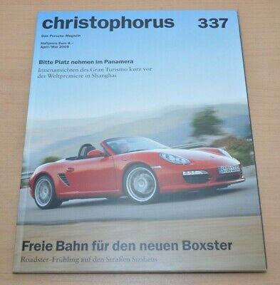 Porsche Christophorus Nr. 337 Magazin 04/09 Panamera Boxster Letzter Stil