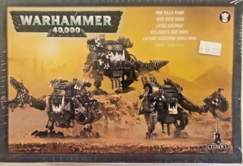 Warhammer 40K ORKS KILLA KANS Space Ork Killa Kanz Dreadnought Walkers New