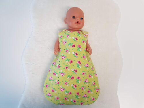 Mepsidesigns handmade bambole Sacco a pelo per 43cm BABY BORN NUOVO
