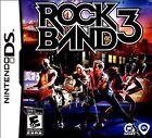 Rock Band 3 (Nintendo DS, 2010)