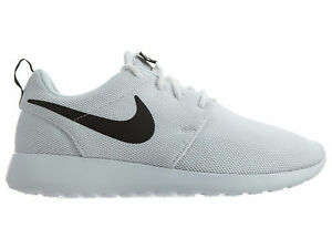 Image is loading Nike-Roshe-One-Womens-844994-101-White-Black-