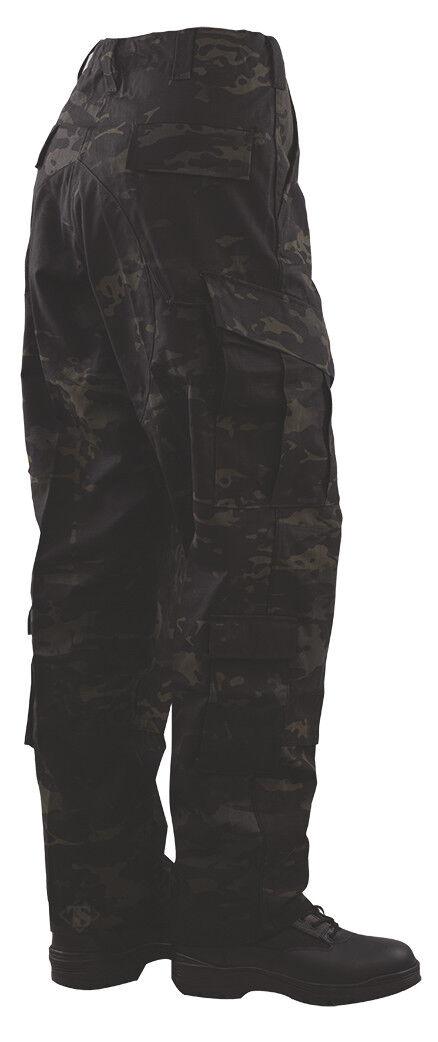 Tru-Spec Multicam negro Tru Pantalones 50 50 Nyco RS