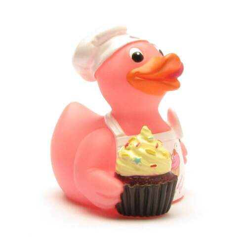 Cupcake Canard Badeente Celebriduck Quietscheentchen Quietscheente Gummiente