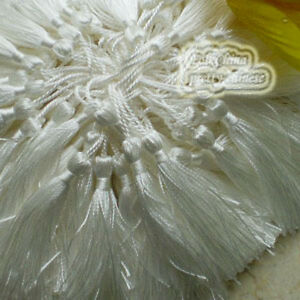 White-12cm-Tassels-Craft-Sewing-Curtains-Trimming-Embellishment-T3