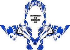 YAMAHA NYTRO SNOWMOBILE WRAP DECAL STICKERS 05-15 GRUNGE BASIC