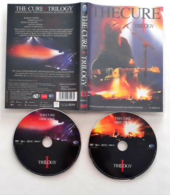 The Cure – Trilogy DVD    Eagle Vision – EREDV312