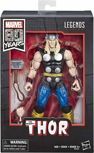 Marvel Legends Series Mighty Thor Action Figure - 80 Years Classic Comic Edition