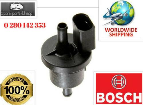 Solenoide Válvula De Ventilación Bosch Canister purge se ajusta Audi TT FORD SEAT VW 1.4-6.0L 97