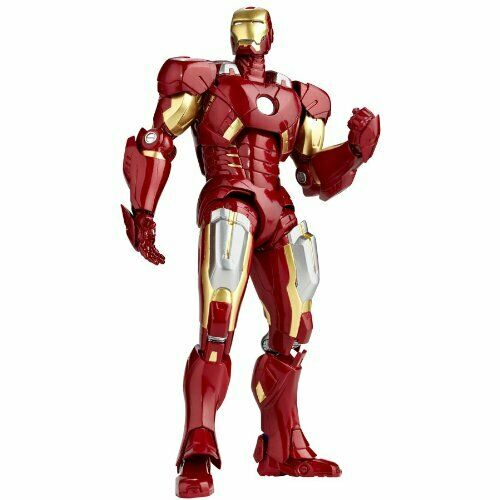 Kaiyodo Revoltech 42 The Avengers Iron Man Mark 7 Mark VII figurine Marvel