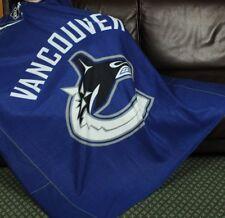 Vancouver Canucks NHL Hockey Fleece Throw Blanket by Northwest