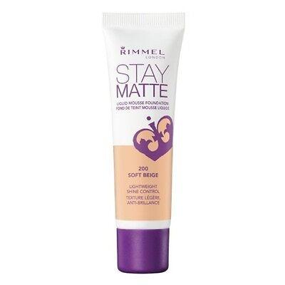 RIMMEL LONDON Stay Matte Liquid Mousse Foundation - Soft Beige