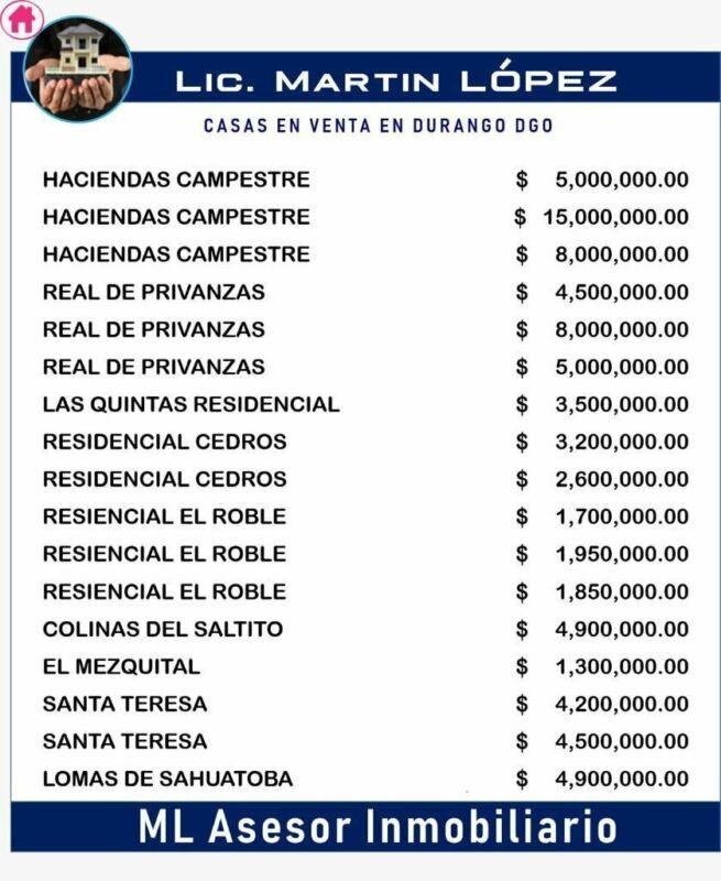 DEPTOS DE RENTA LICENCIADO MARTIN LOPEZ CONTAMOS CON LA MAS AMPLIA CARTERA DE CASAS DE VENTA Y RENTA