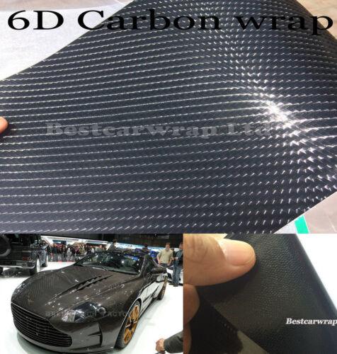 Metallic Pearl Glossy 3D 4D 5D 6D Carbon Fiber Chrome Auto Wrap Film Vinyl