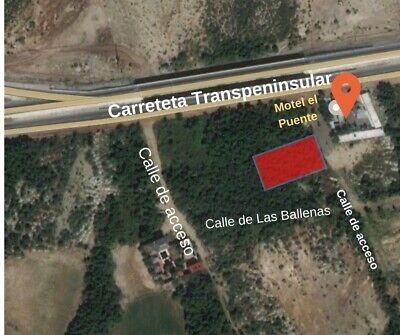 Terreno en Chametla, La Paz B.C.S., a un lado Motel El Puente