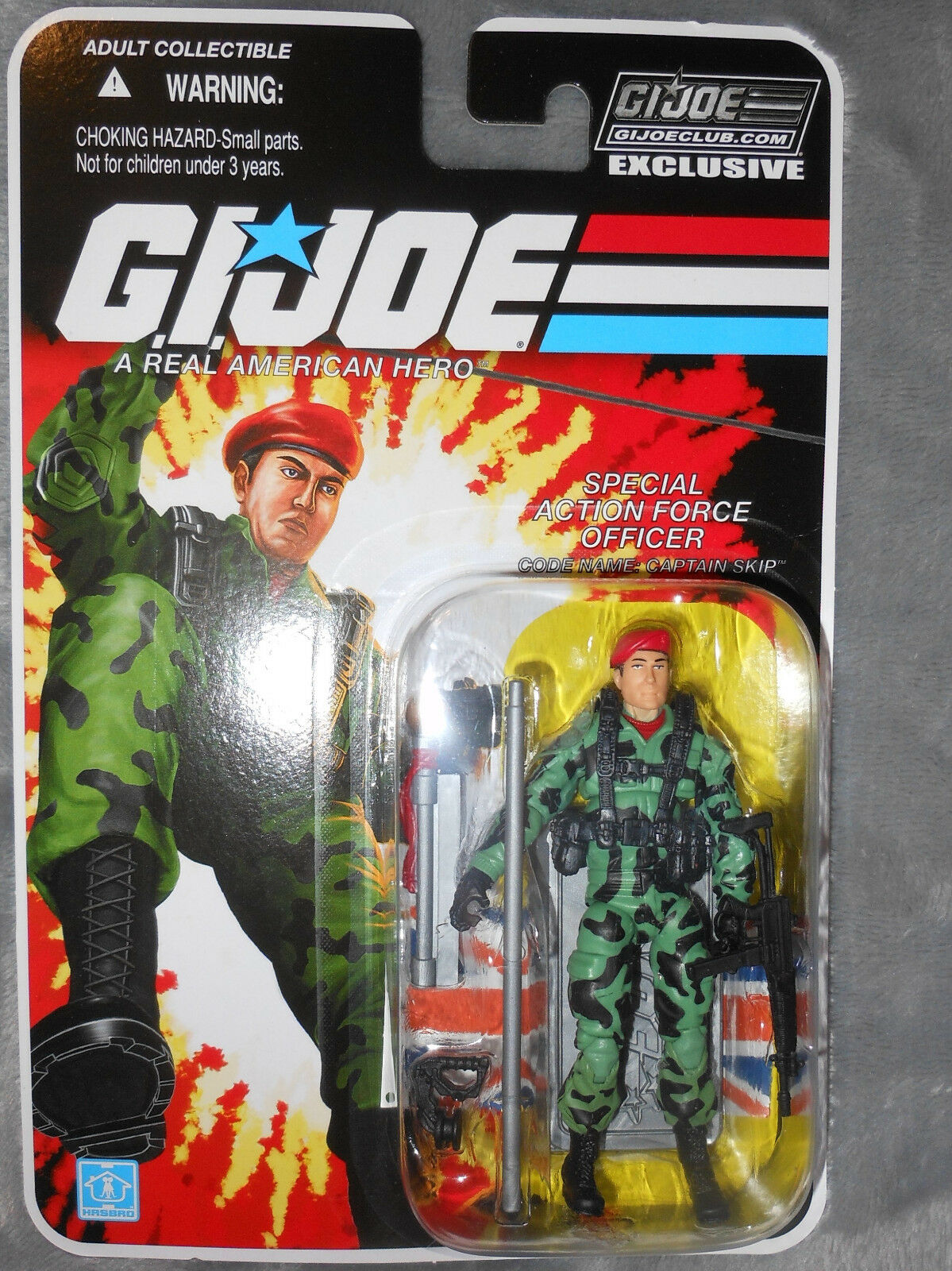 CAPTAIN SKIP FSS 6.0  MOC GI Joe Club Exclusive  le moins cher