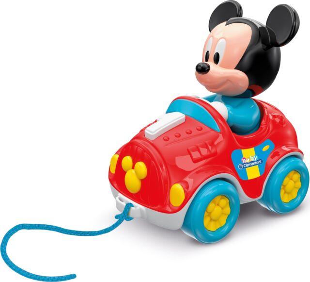 Clementoni 17208 Baby Mickey Nachziehauto